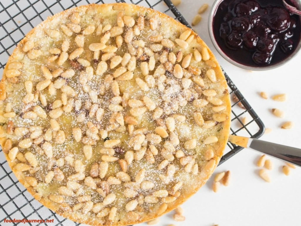 Italian Pine Nut Cake|foodandjourneys.net