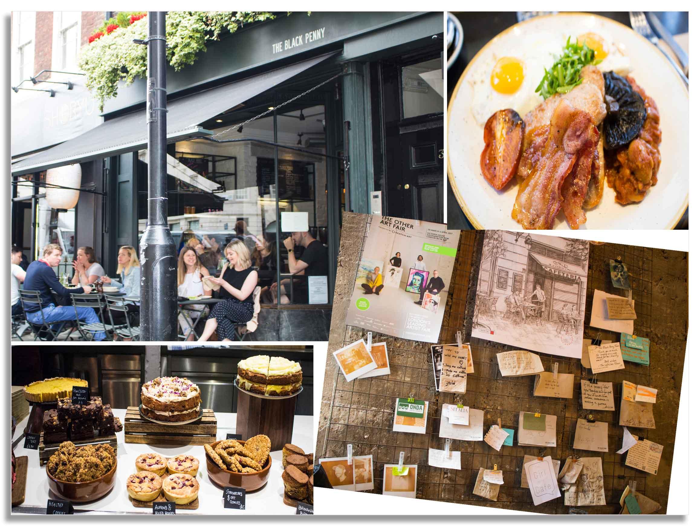 Black Penny Covent Garden London|foodandjourneys.net