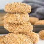 Sicilian Sesame Seed Cookies PIC2