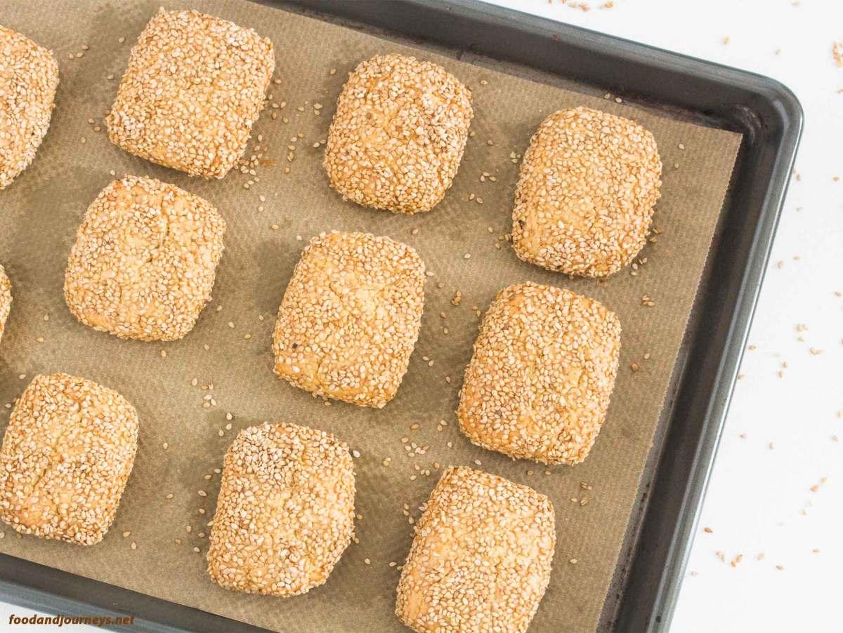Sicilian Sesame Seed Cookies