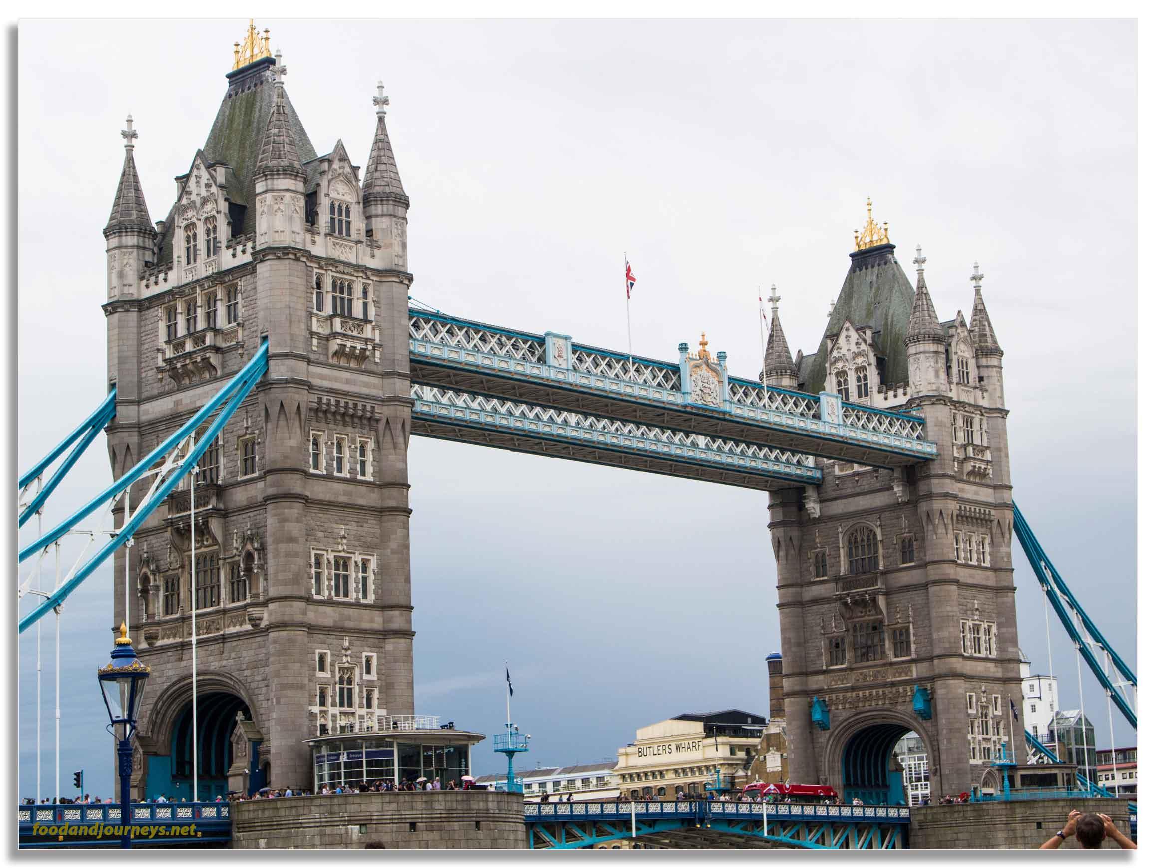 Tower Bridge London|foodandjourneys.net
