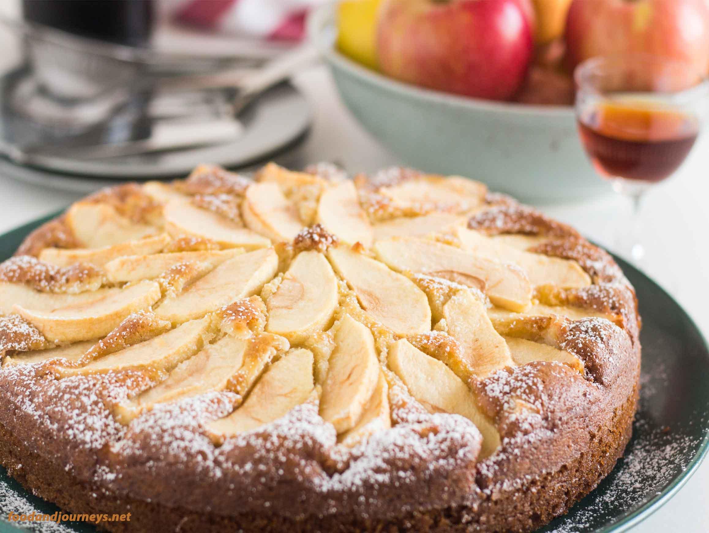 Tuscan Apple Cake MPIC|foodandjourneys.net