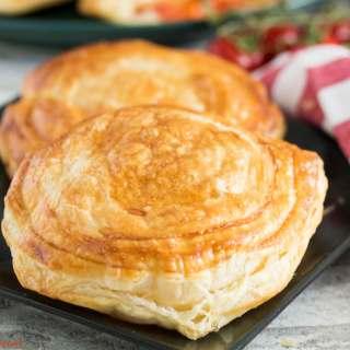 Tomato and Mozzarella Pastry (Rustico Leccese)