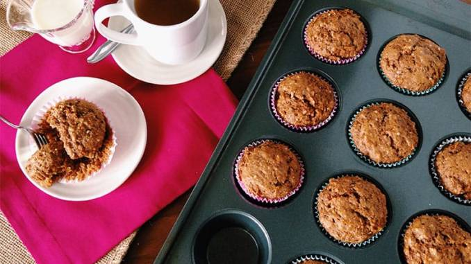 Whole Grain Power Muffins Food Nutrition Magazine