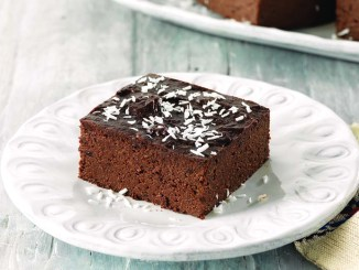 Coconut-Topped Chocolate Cake | Food & Nutrition Magazine | Volume 9, Issue 1