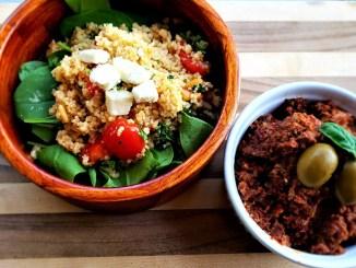 Easy Mediterranean Couscous Summer Salad