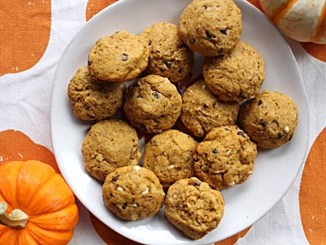 Gluten-free, Dairy-Free Pumpkin Chocolate Chip Cookies