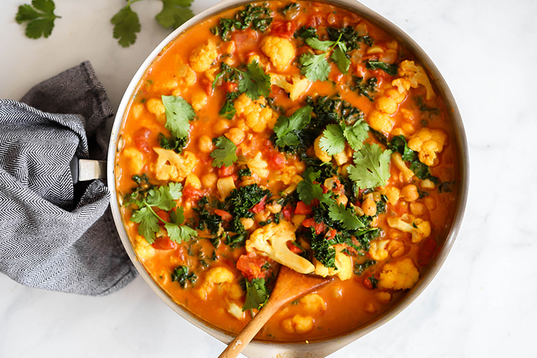 One-Pot Cauliflower Curry - Food & Nutrition Magazine - Stone Soup