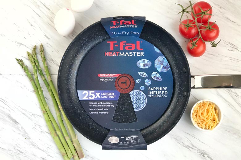 Start With Sizzle Using T Fal S Heatmaster Fry Pan Food