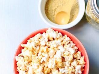 Vegan Chili Cheese Nooch Popcorn