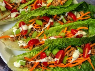 Crunchy Buffalo Lettuce Wraps - Food & Nutrition Magazine - Stone Soup