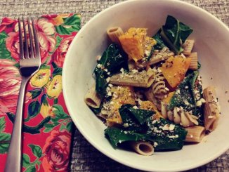Whole-Wheat Pasta with Kabocha Squash and Collard Greens | Food & Nutrition | Stone Soup