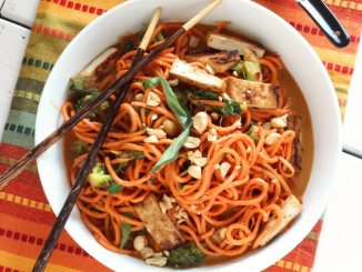 Sesame Peanut Sweet Potato Noodles | Food & Nutrition | Stone Soup