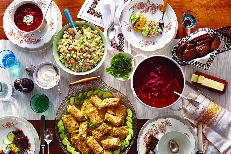 My Global Table Ukraine Food Nutrition January February 2018