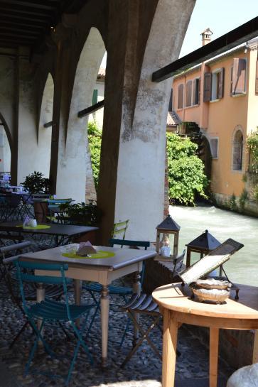 Leuk terrasje Treviso