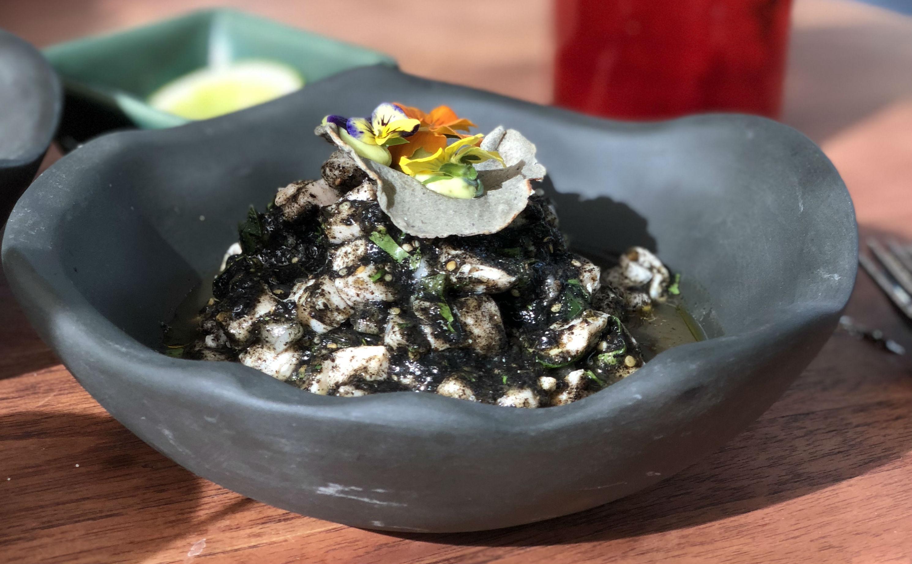 Receta: Ceviche negro de Esmedregal
