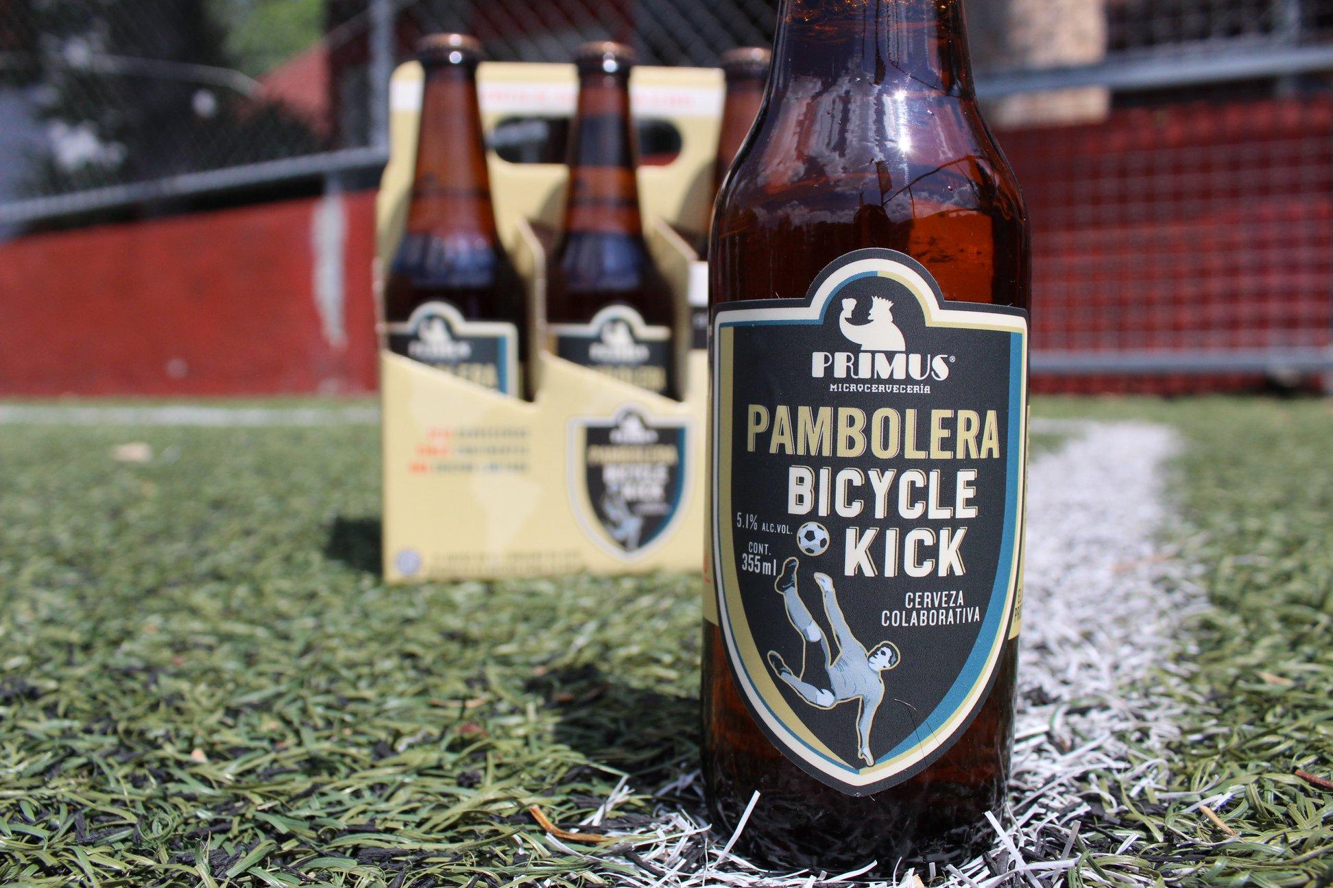 Grita 'GOL' con Pambolera, la cerveza inspirada en el mundial