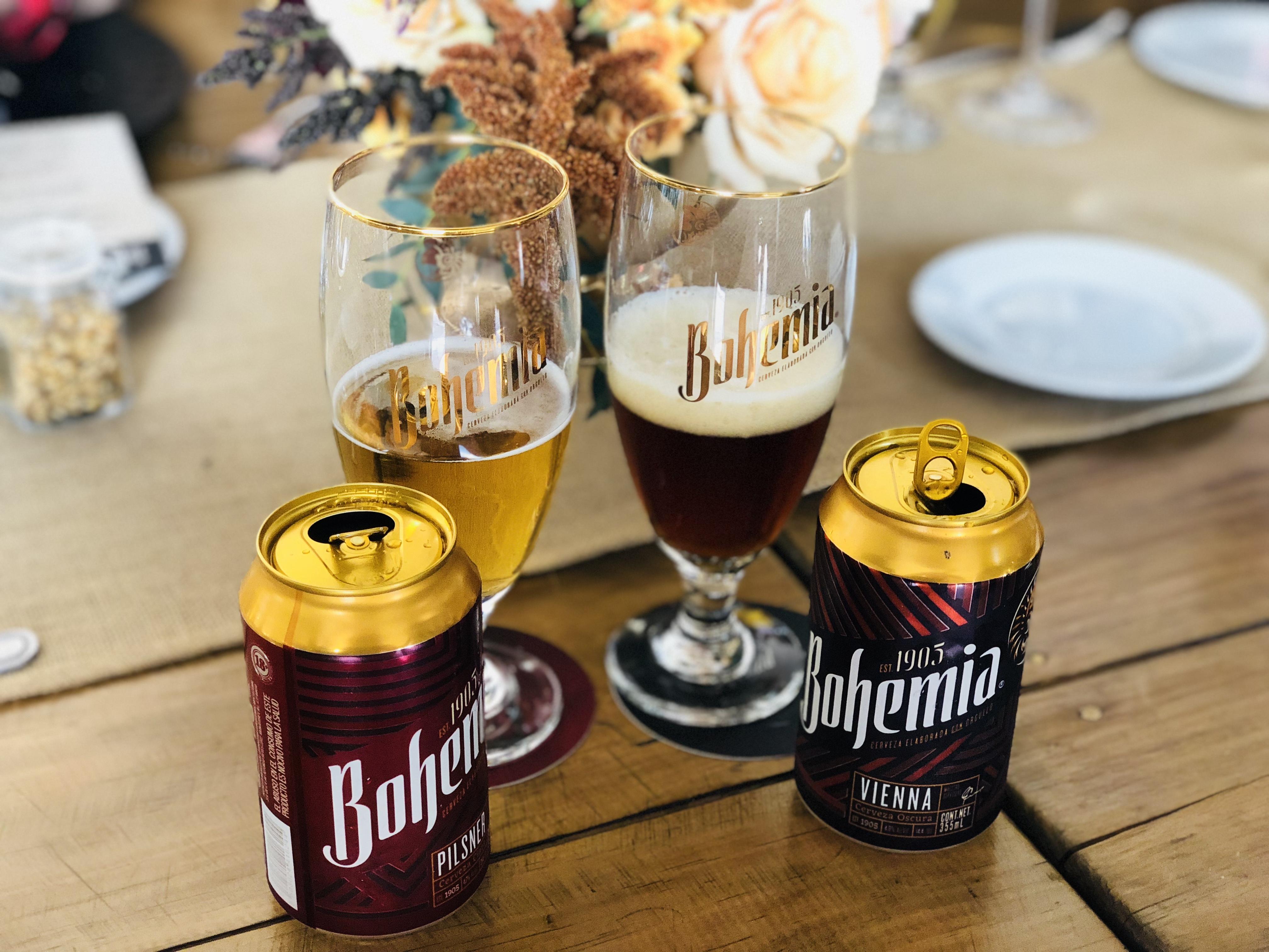 Bohemia: Tu cerveza favorita ahora en lata