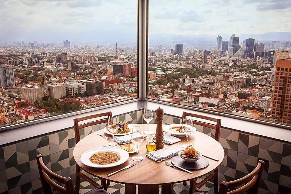 7 restaurantes con la vista más espectacular de la CDMX (en donde sí se come bien)