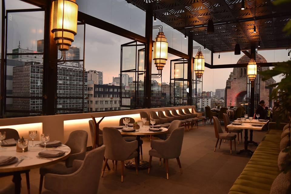 7 terrazas para comer y beber con vistas a los monumentos más emblemáticos de la CDMX