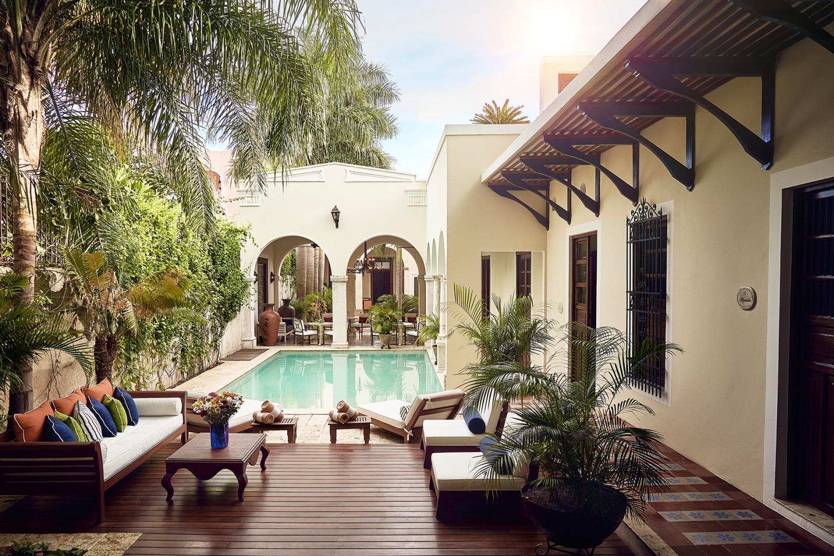Los hoteles boutique más hermosos de Mérida
