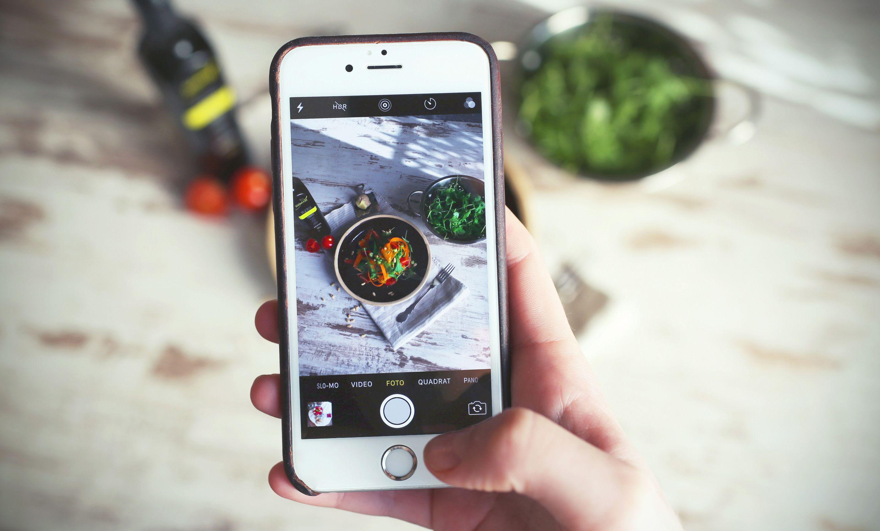 7 tips para tomar fotos de comida asombrosas con tu celular
