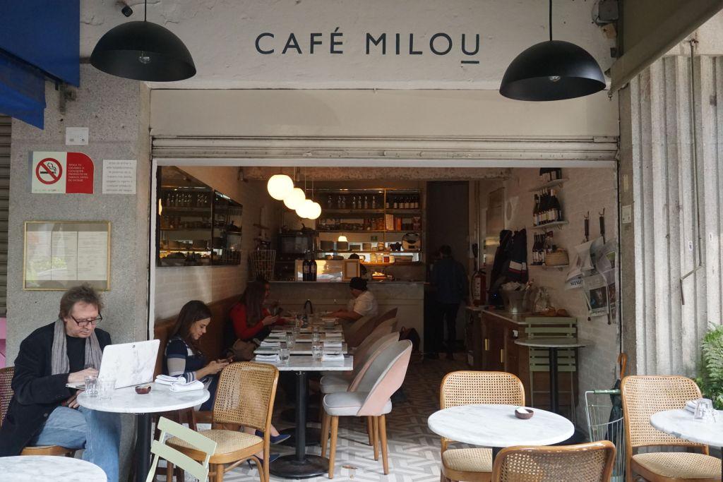 Café Milou: el 'rinconcito' francés que sirve desayunos y comidas muy parisinos en la Roma