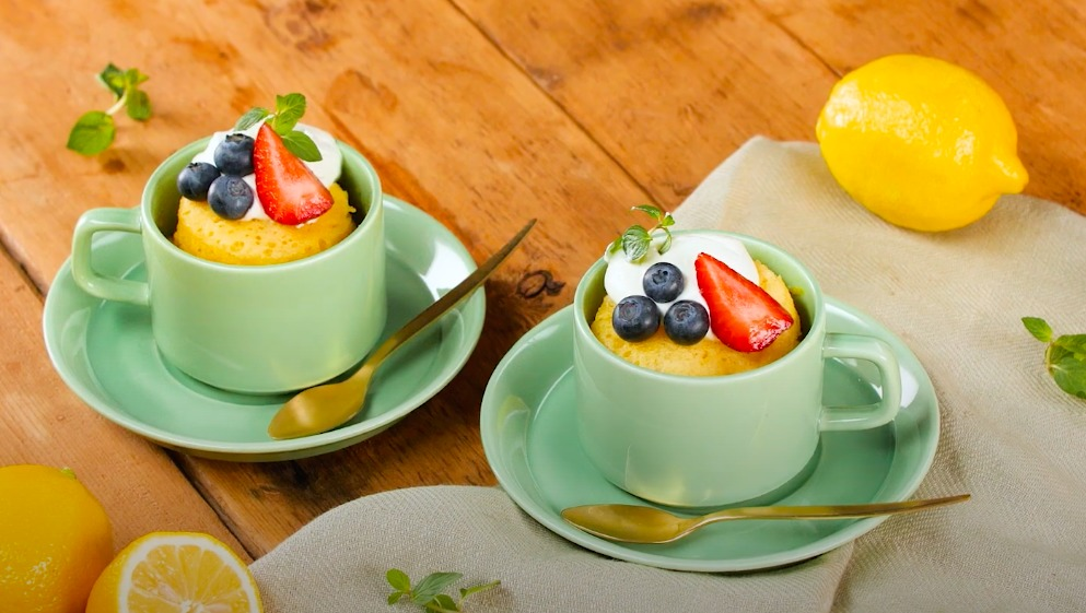 Date un antojo dulce con estas 5 deliciosas recetas de 'mug cakes' en microondas