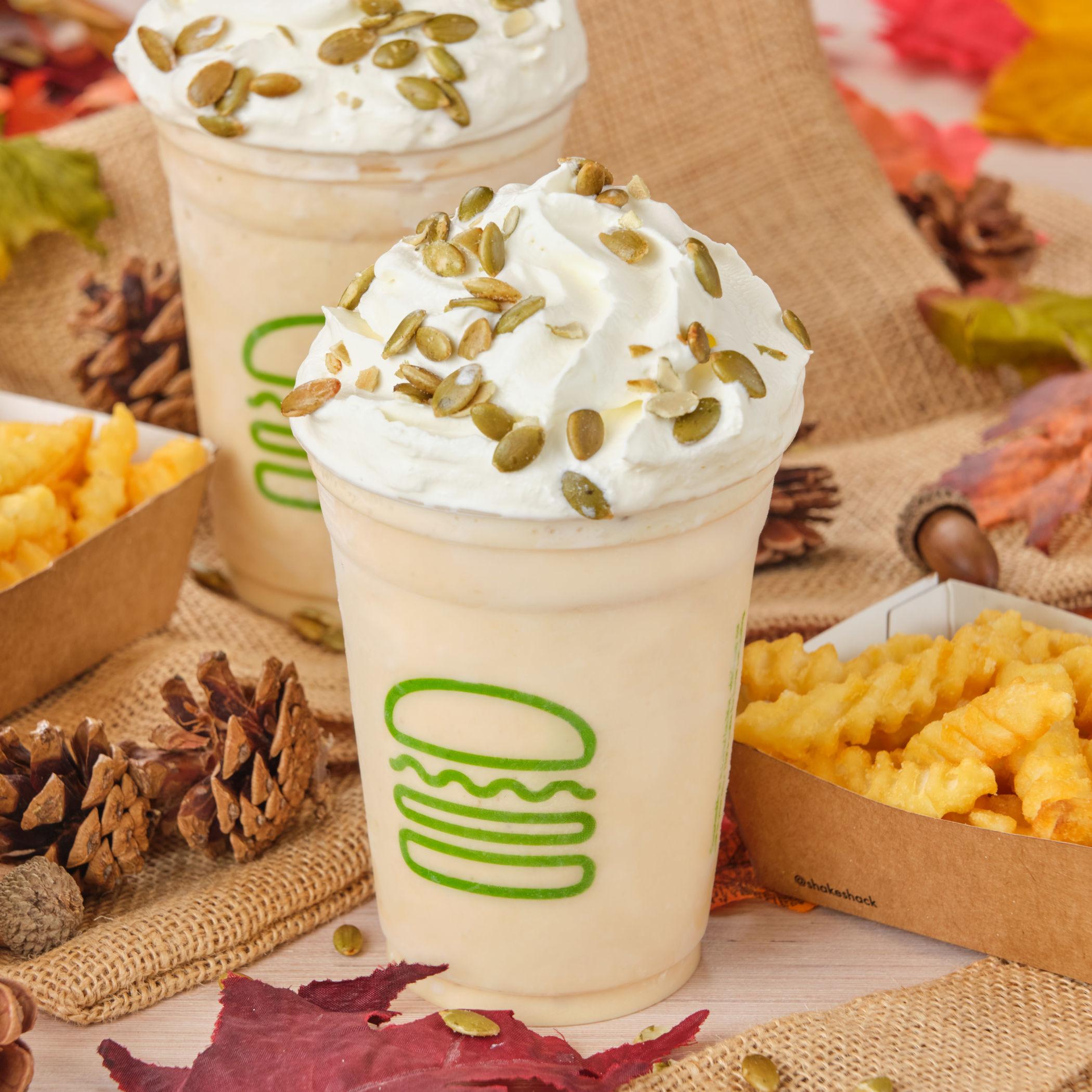Shake Shack lanza la Pumpkin Shake, la malteada más 'yummy' del otoño