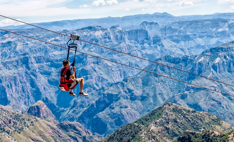 6 tirolesas con los mejores paisajes de México como fondo