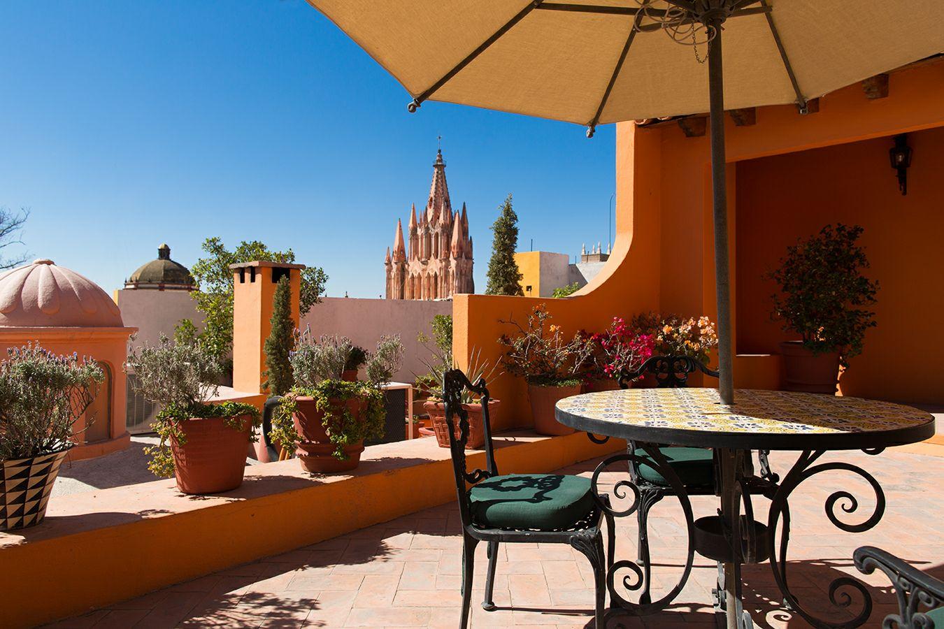 Sunset Experience: vino y gastronomía en una de las terrazas más bonitas de San Miguel de Allende