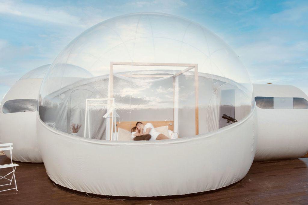 Conoce este nuevo y muy 'instagrameable' hotel burbuja en la CDMX
