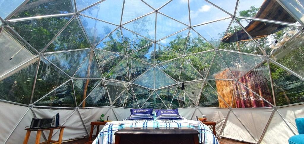 5 preciosas casas domo para hospedarte en México