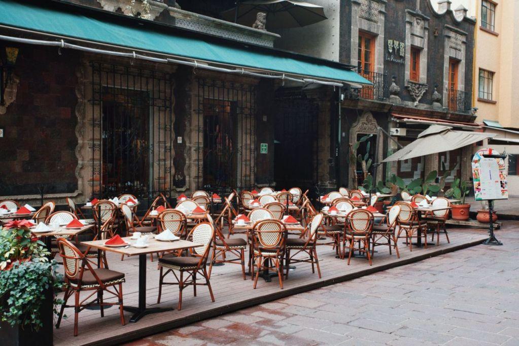 8 de los restaurantes más bonitos y al aire libre en Coyoacán