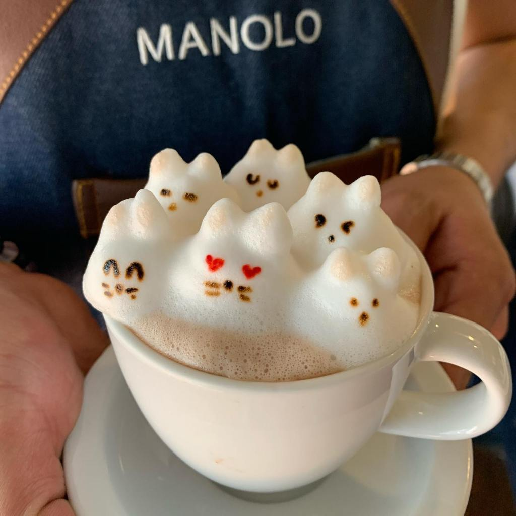 Café C: el restaurante con los 'lattes' más bonitos de la CDMX