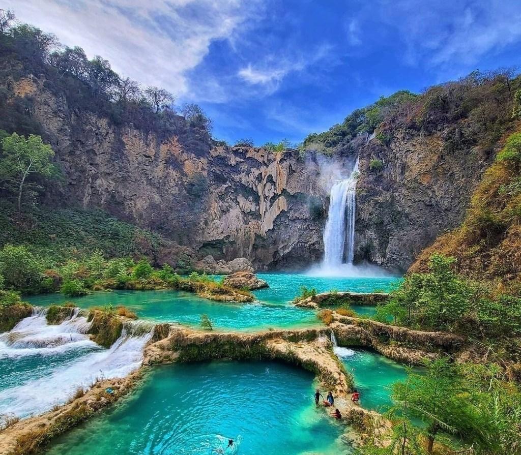 Cascada El Salto en la Huasteca Potosina: el oasis con pozas verde turquesa que pocos conocen