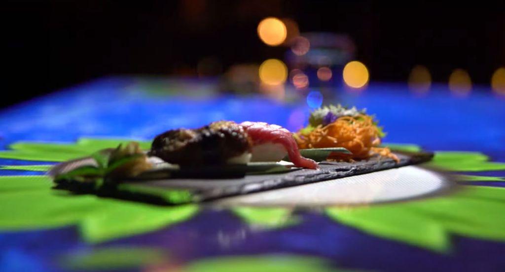 Digital Bistro Japan: la cena con mapping que debes experimentar si amas la comida y la cultura nipona (ahora en CDMX)