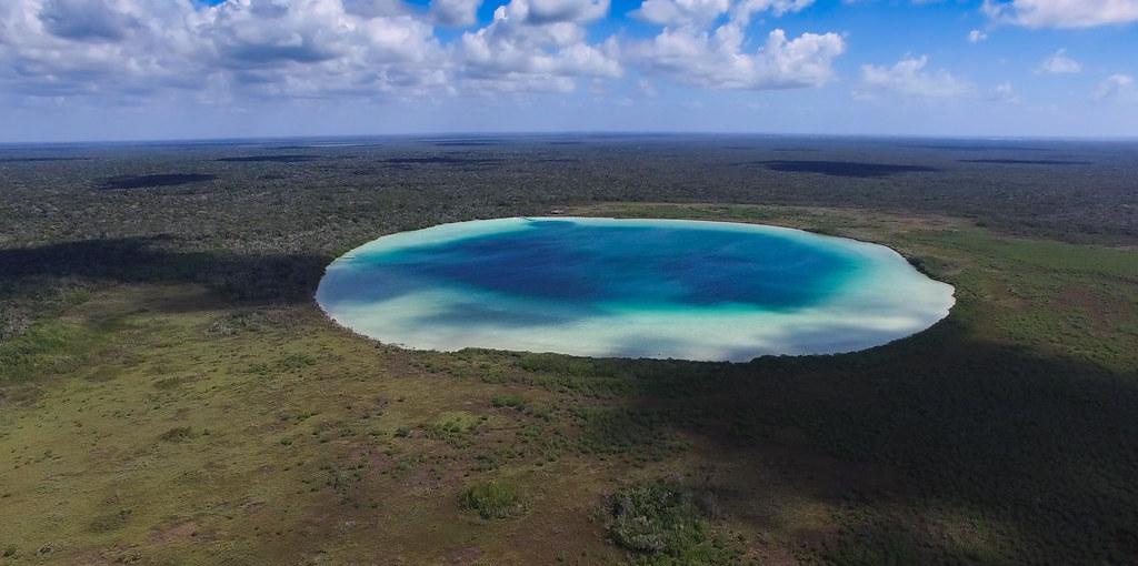 Esta laguna de aguas turquesa es uno de los secretos mejor guardados de Tulum