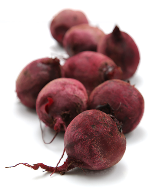 Baked beets