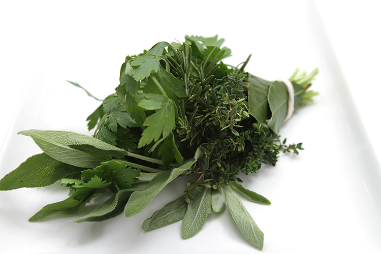 Fresh herb bundle