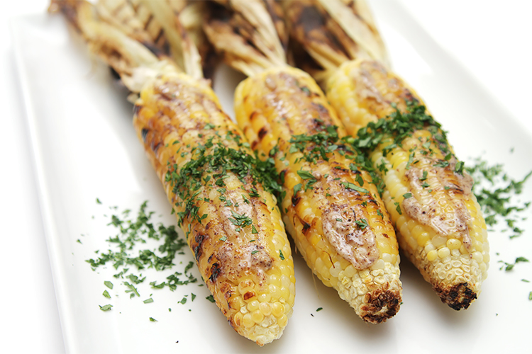 Corn on the cob with sumac butter