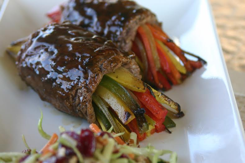 Flank Steak Rolls