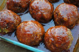 delicious ham balls