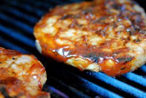 sauce grilling pork chops