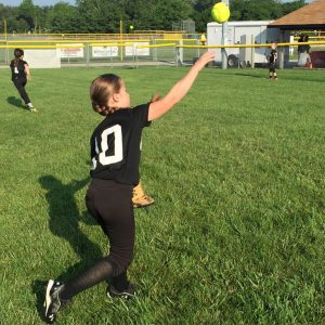 Softball Throwing