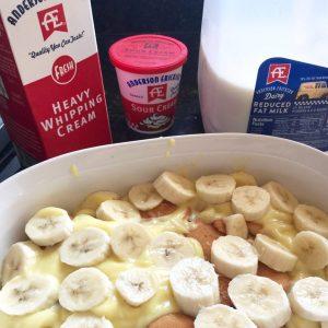 Easy Banana Cream Dessert