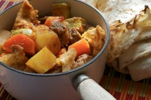 Thareed - Lamb and Vegetable Stew