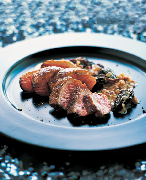 Food And Travel Magazine Duck Breast With Morels And Marsala Sauce
