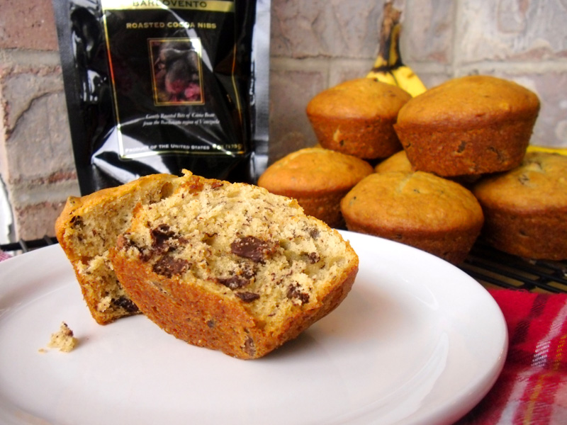cocoa nib sour cream banana bread