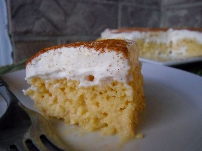 Authentic Pastel de Tres Leches